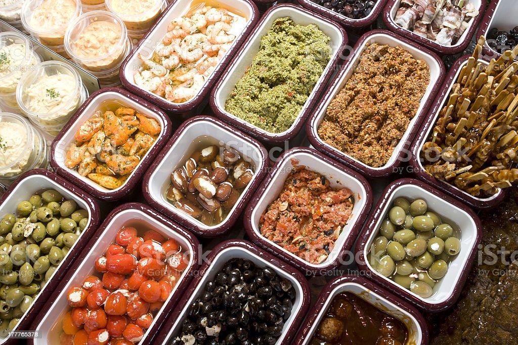 Tapas Food royalty-free stock photo
