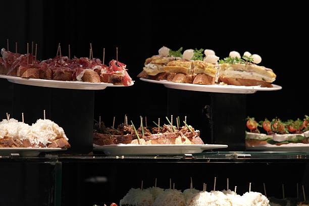 Tapas in Barcelona stock photo