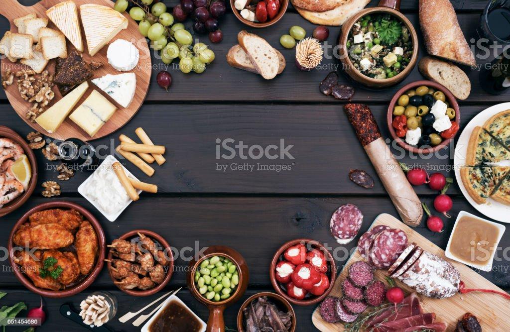 Tapas stock photo