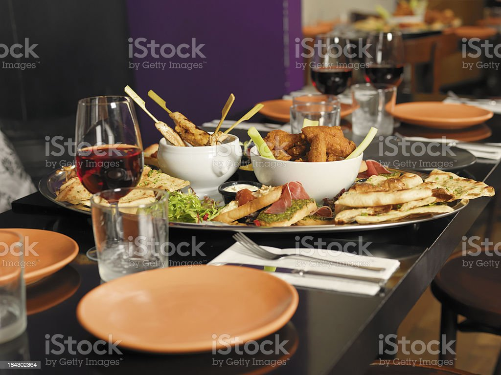 Tapas restaurant royalty-free stock photo