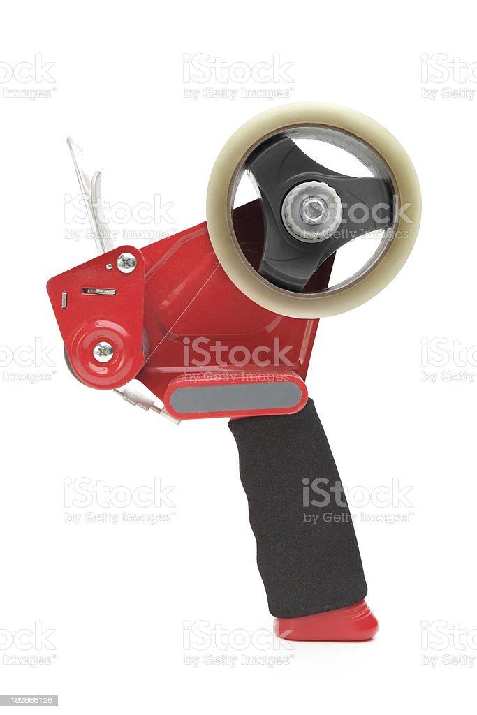 Tape Gun stock photo
