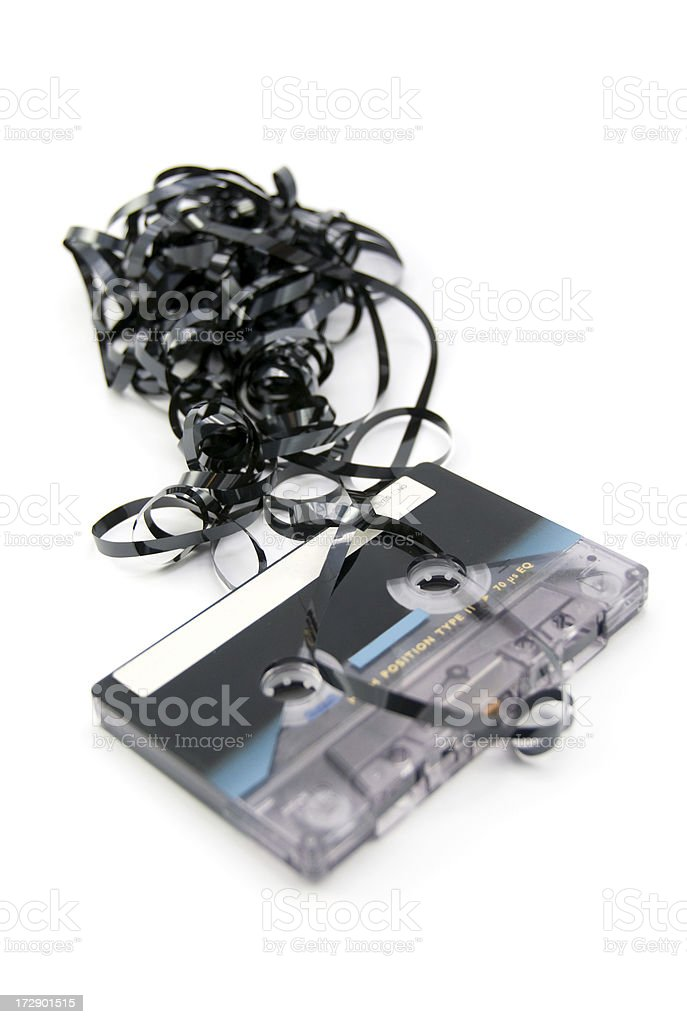 casette tape royalty-free stock photo