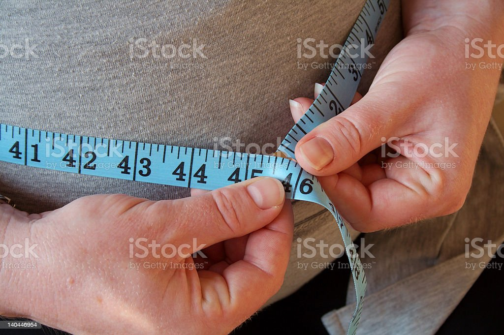 Tape Measure 2 stock photo