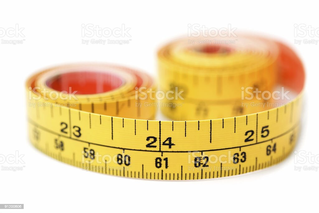 Tape Measure - 24 Inches royalty-free stock photo