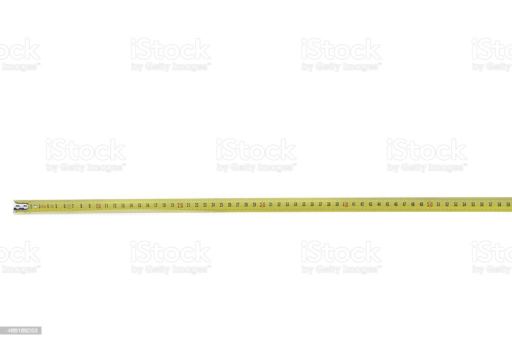 Tape Measure horizontal. stock photo