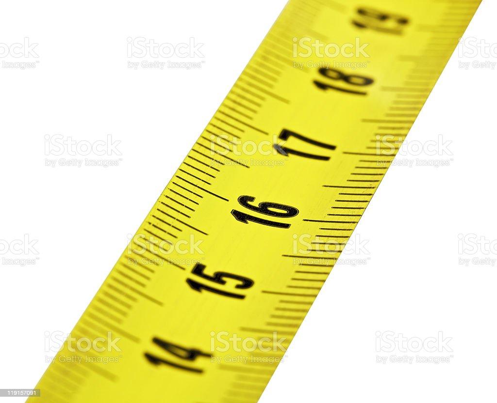 Tape measure royalty-free stock photo