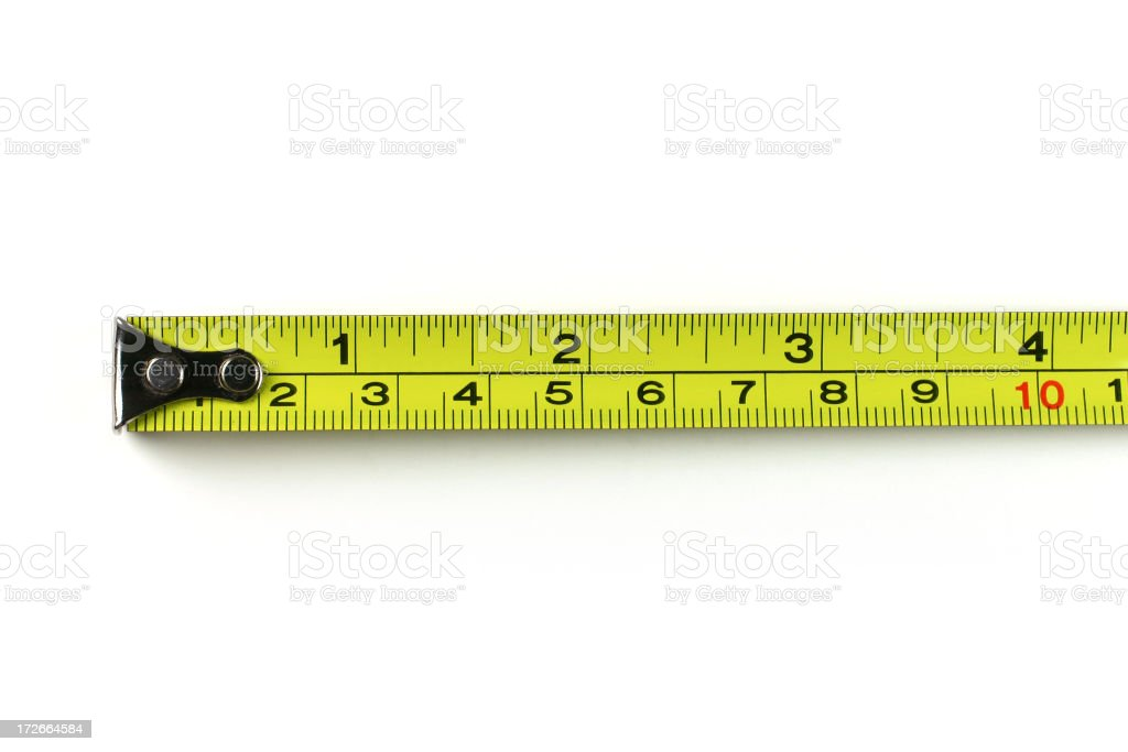Tape Measure royalty-free stock photo