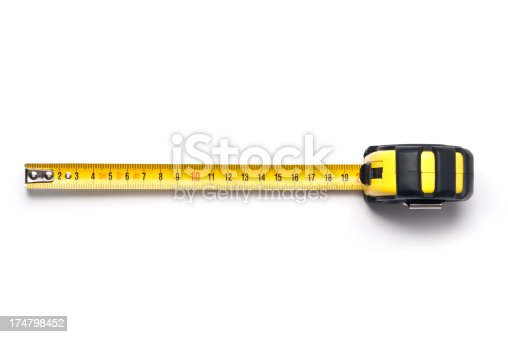 Tape measure isolated on white. Find more in ZOCHA'S OBJECCTS