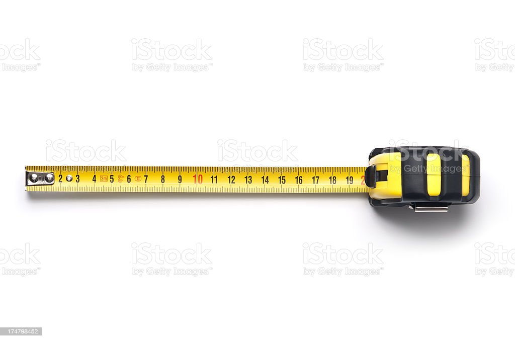 Tape Measure stock photo