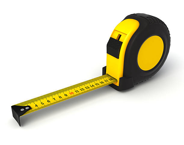 tape measure tape measure isolated 3d object. tape measure stock pictures, royalty-free photos & images