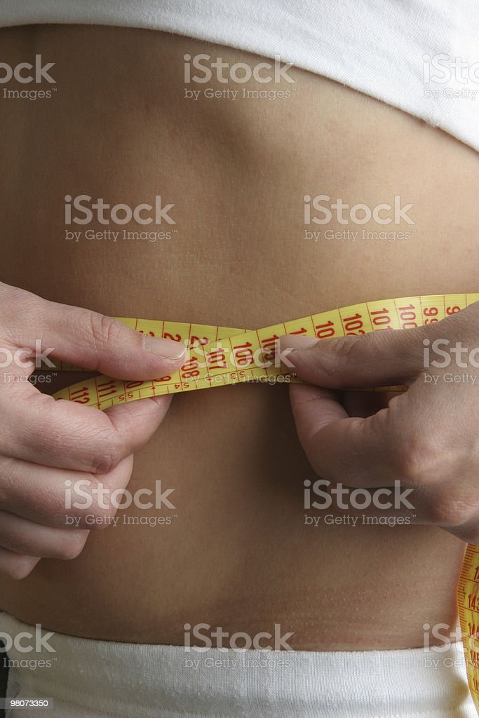 Tape Measurement royalty-free stock photo