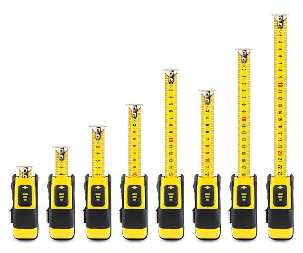 Tape Measures stock photo
