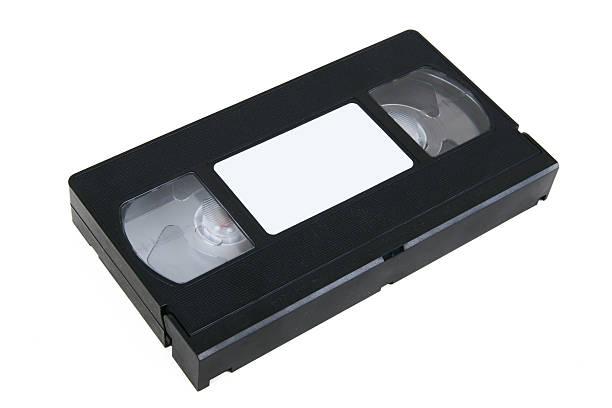 VHS Tape #3 stock photo