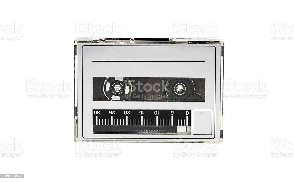 Tape recorder cassette stock photo