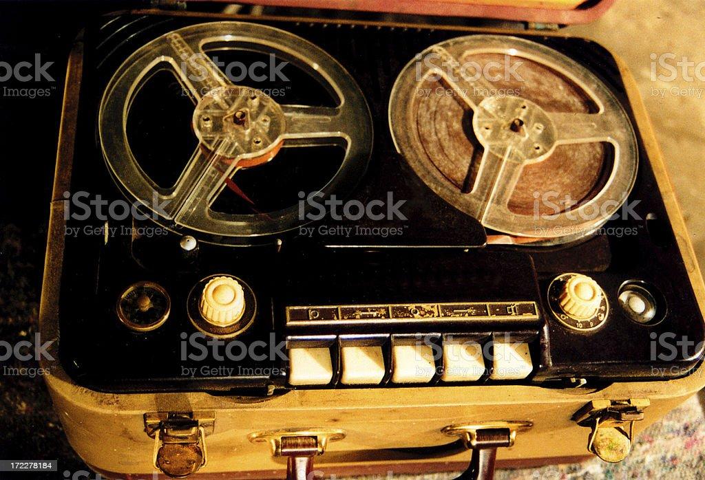 tape recorder royalty-free stock photo