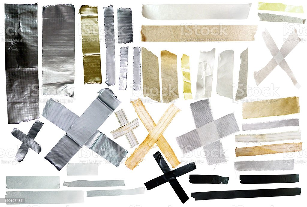 tape samples stock photo