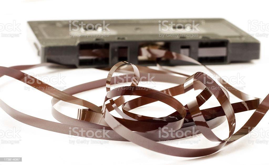 tape spaghetti stock photo