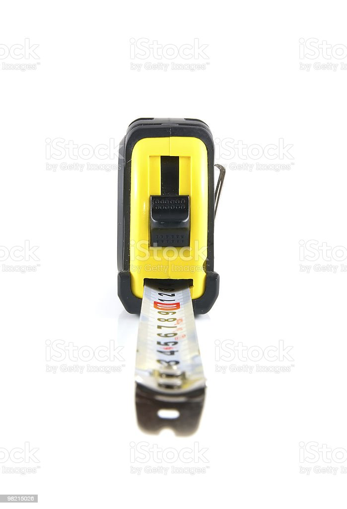tape-measure royalty-free stock photo