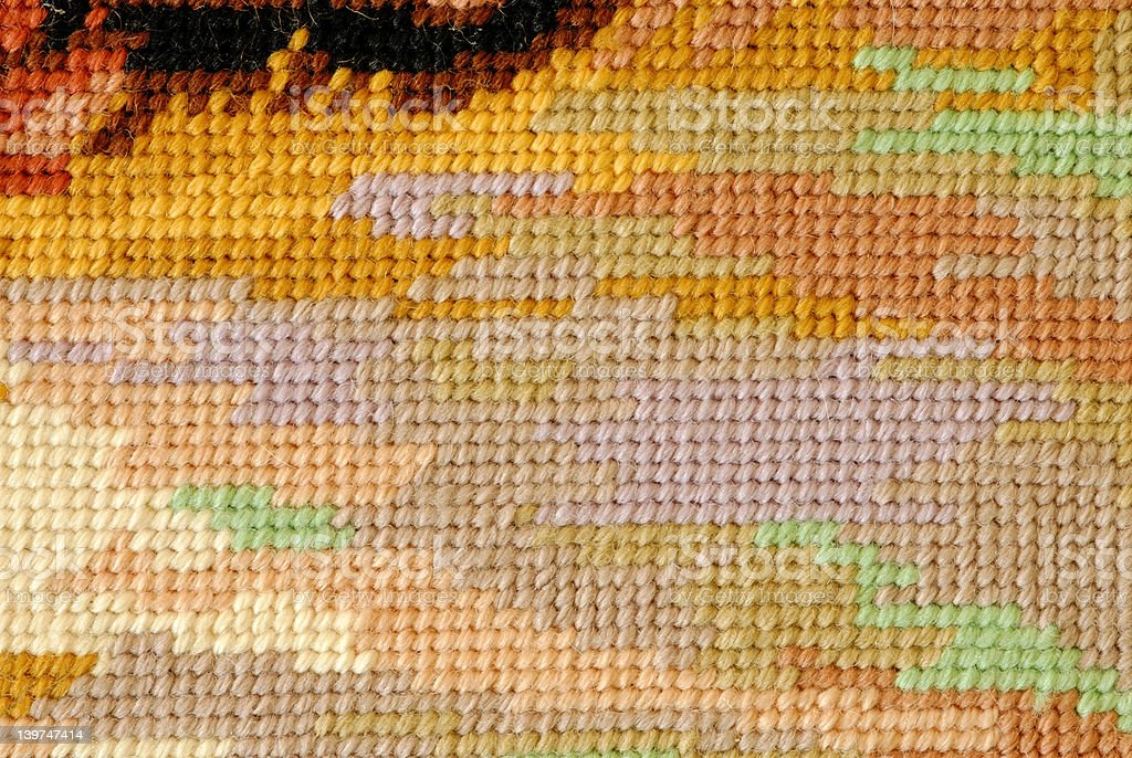 Tapestry Background royalty-free stock photo