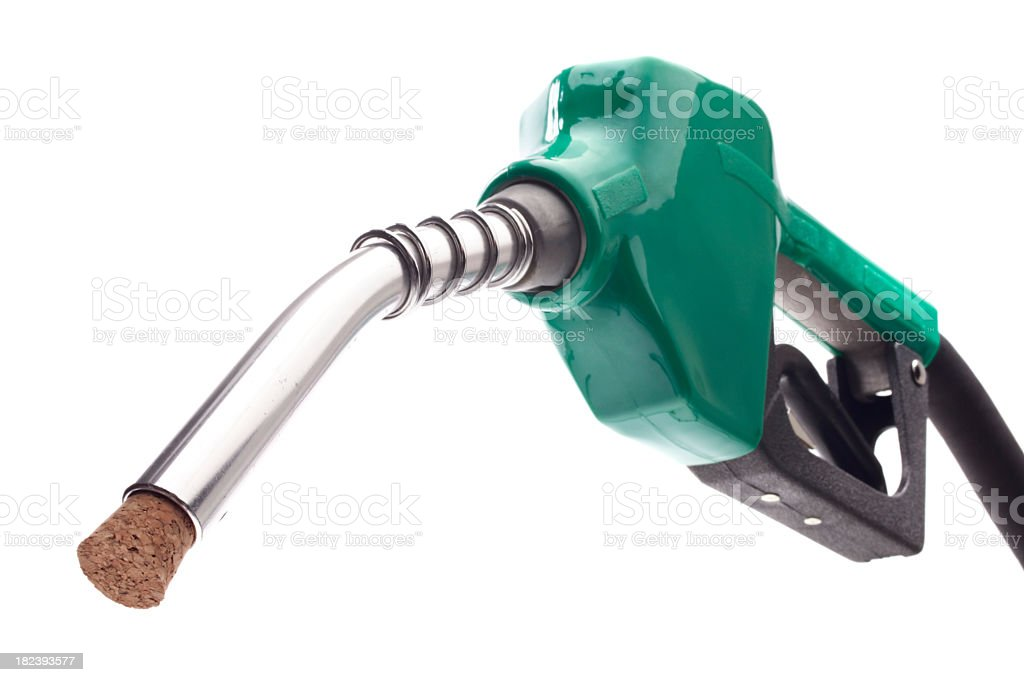 Tapped Fuel Pump stock photo