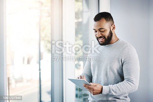 874813790 istock photo Tapped into the business network 1061727340