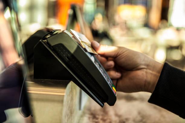 Kreditkarten zum Bezahlen – Foto