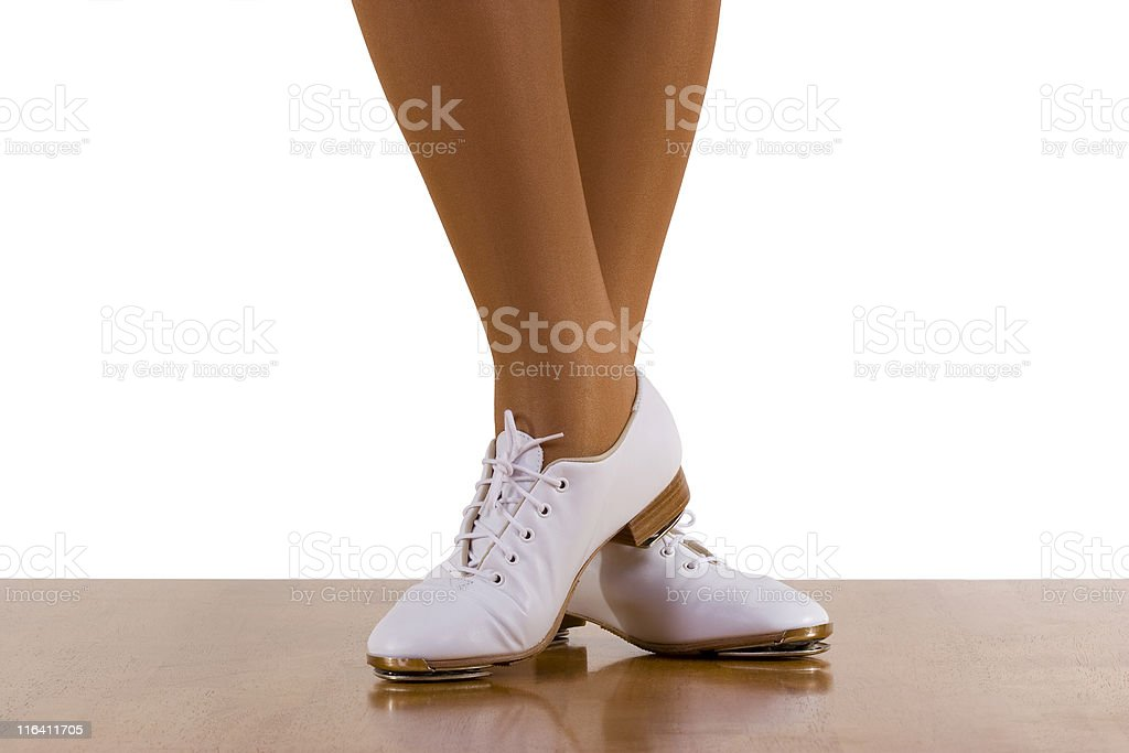 Tap-Top Dance stock photo
