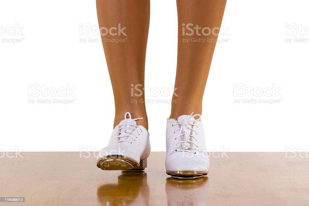 Tap-Top/Clog Dance Front Steps stock photo