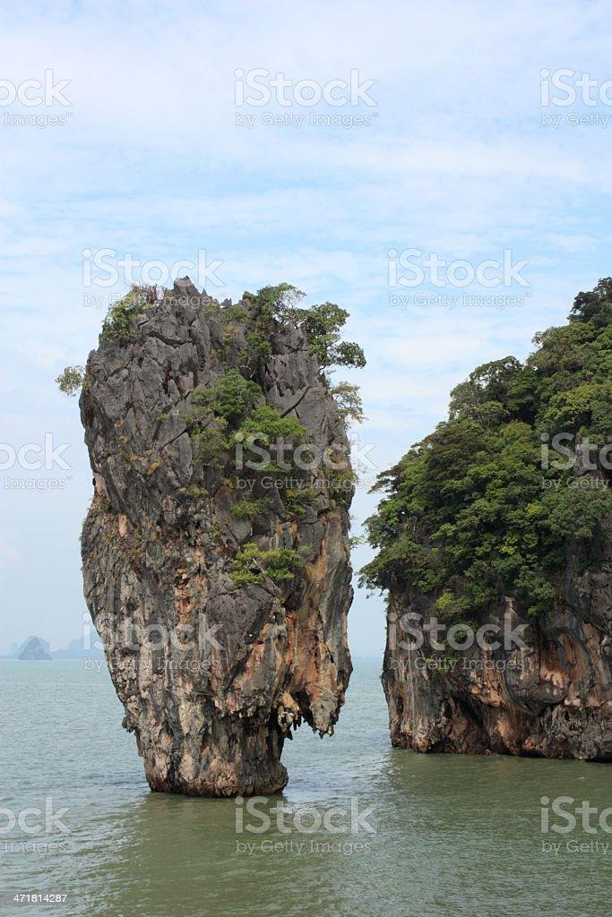 Tapu island royalty-free stock photo