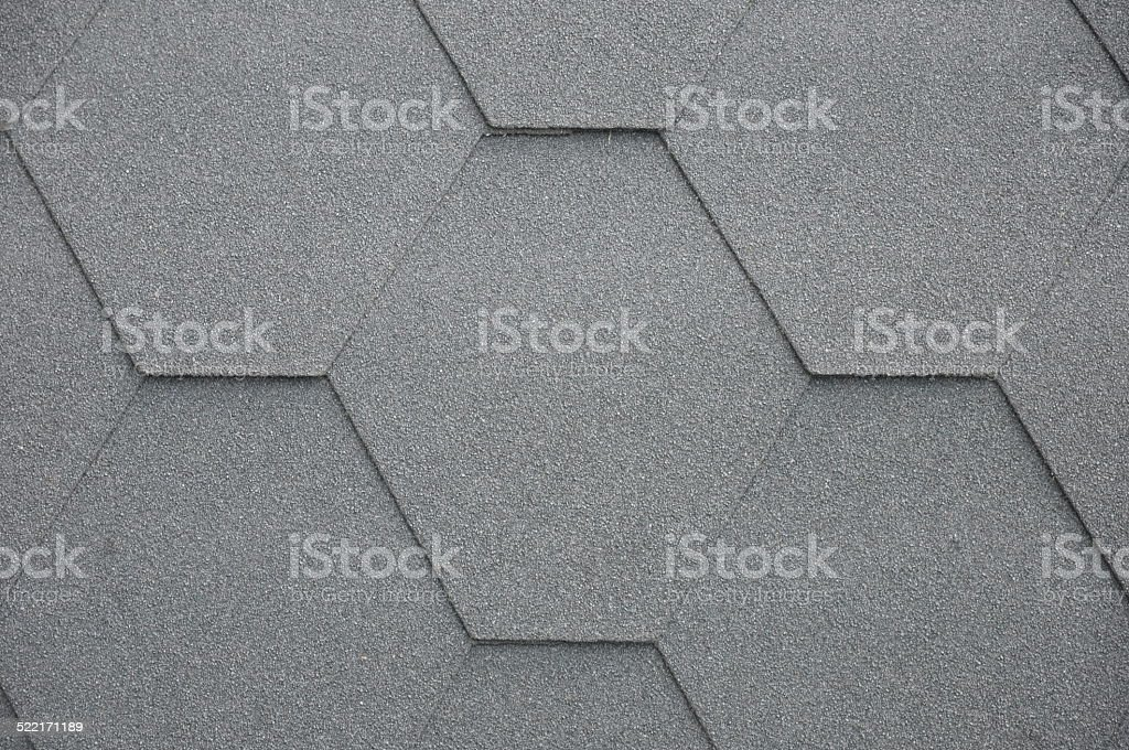 tar paper roof detail stock photo