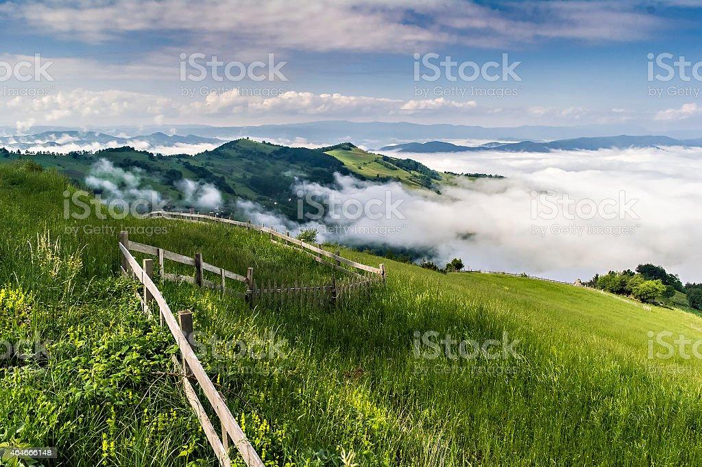 Tara slopes stock photo