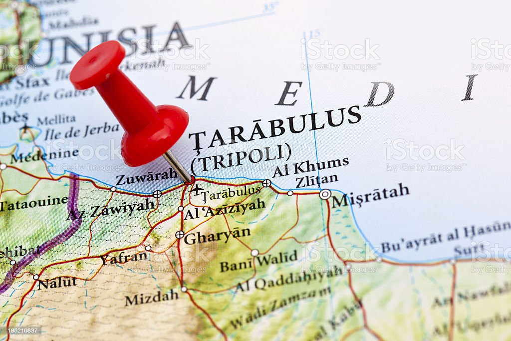 Tarabulus tripoli map libya stock photo more pictures of africa tarabulus tripoli map libya royalty free stock photo publicscrutiny