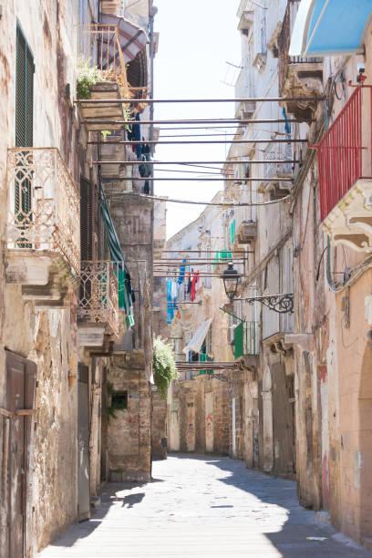 Taranto, Apulien - scheint die Zeit zurückgedreht werden, bis ins Mittelalter – Foto