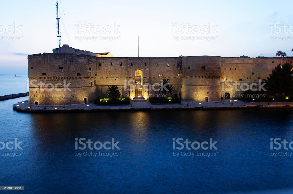 Taranto Harbor stock photo