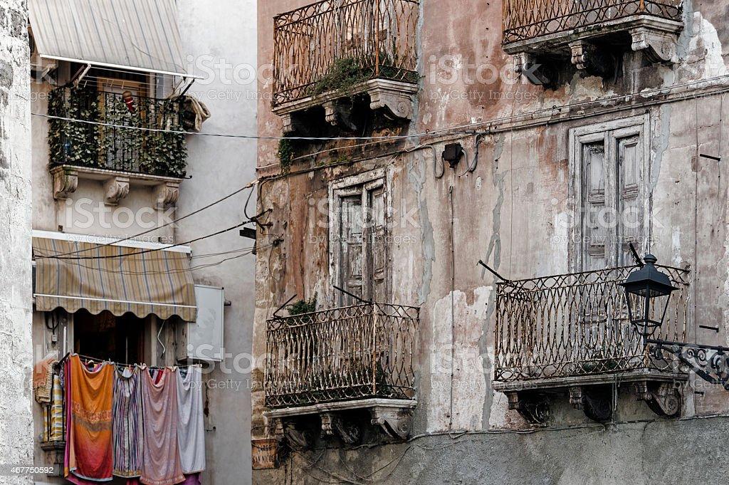 Taranto, Puglia, Vecchio stock photo