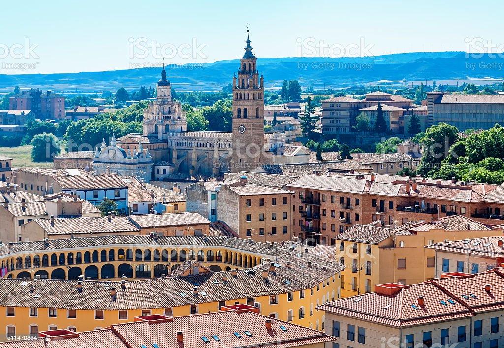 Tarazona, Zaragoza, Aragon, Spain stock photo