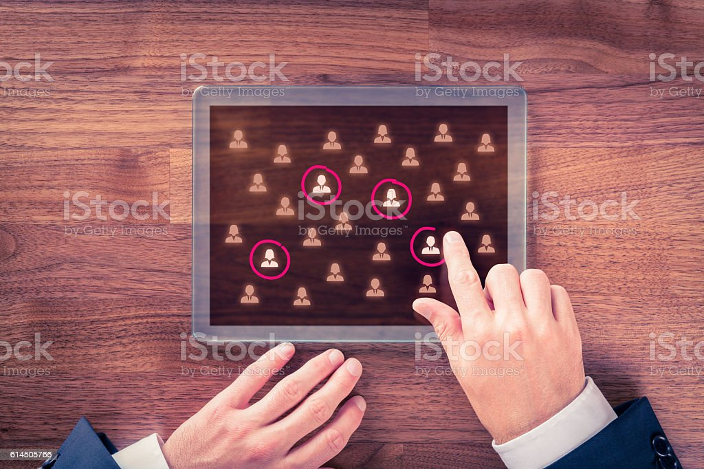Target audience and market segmentation - Photo de Adulte libre de droits