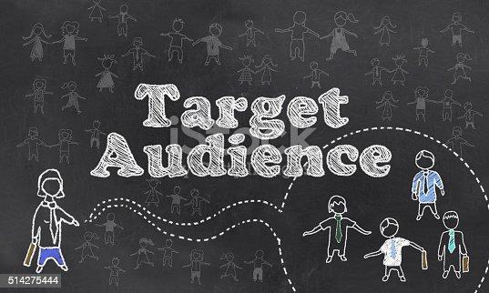 935757718 istock photo Target Audience 514275444