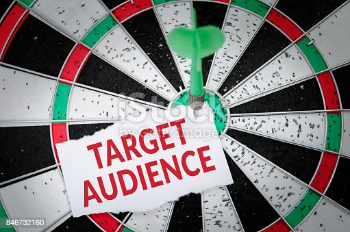935757718 istock photo Target audience 846732160
