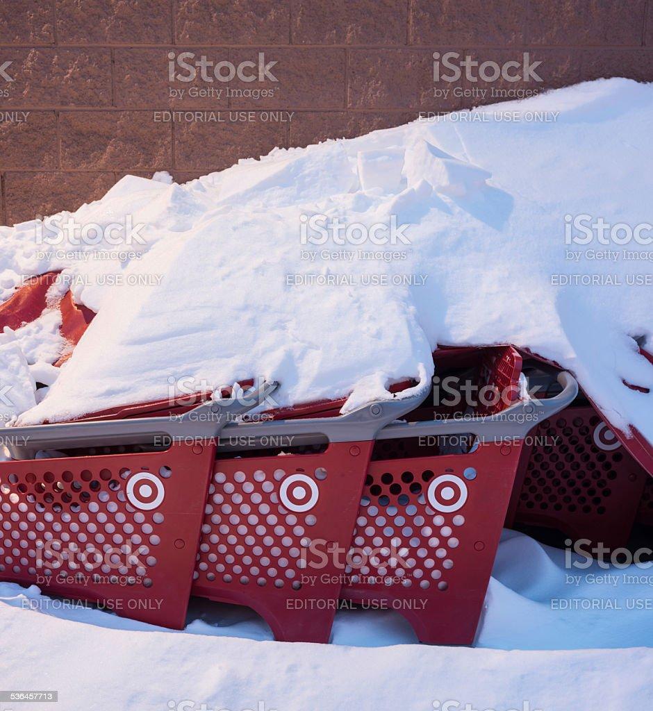 Target Canada Closing stock photo