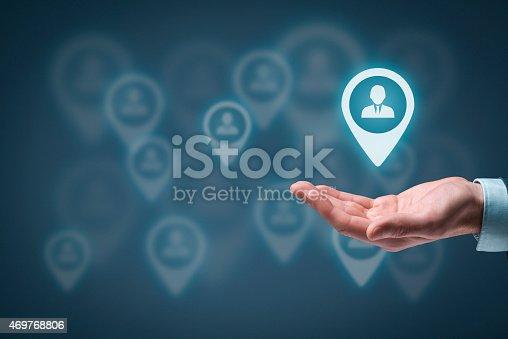 istock Target customer 469768806