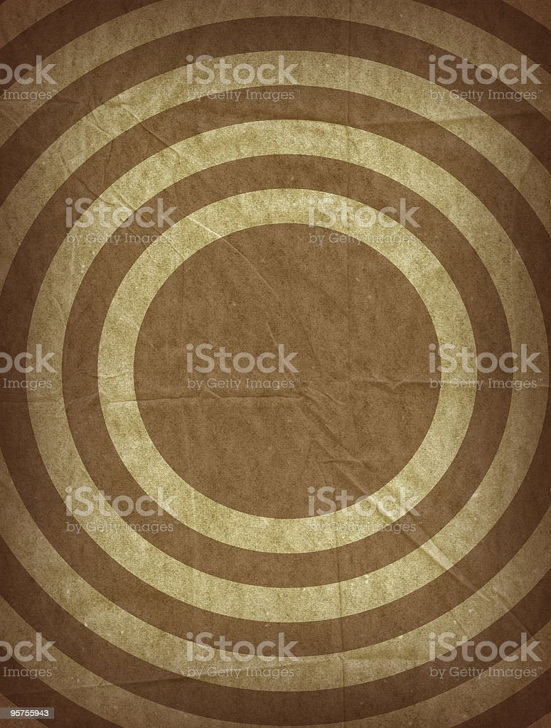 Target Design Paper Background royalty-free stock photo