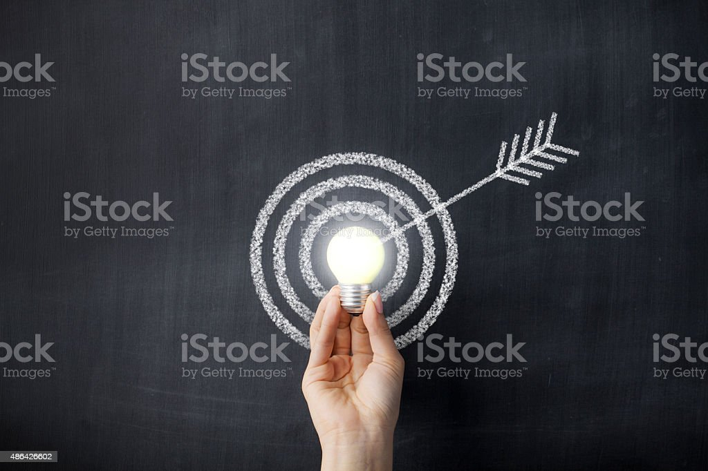 Target Diagram stock photo