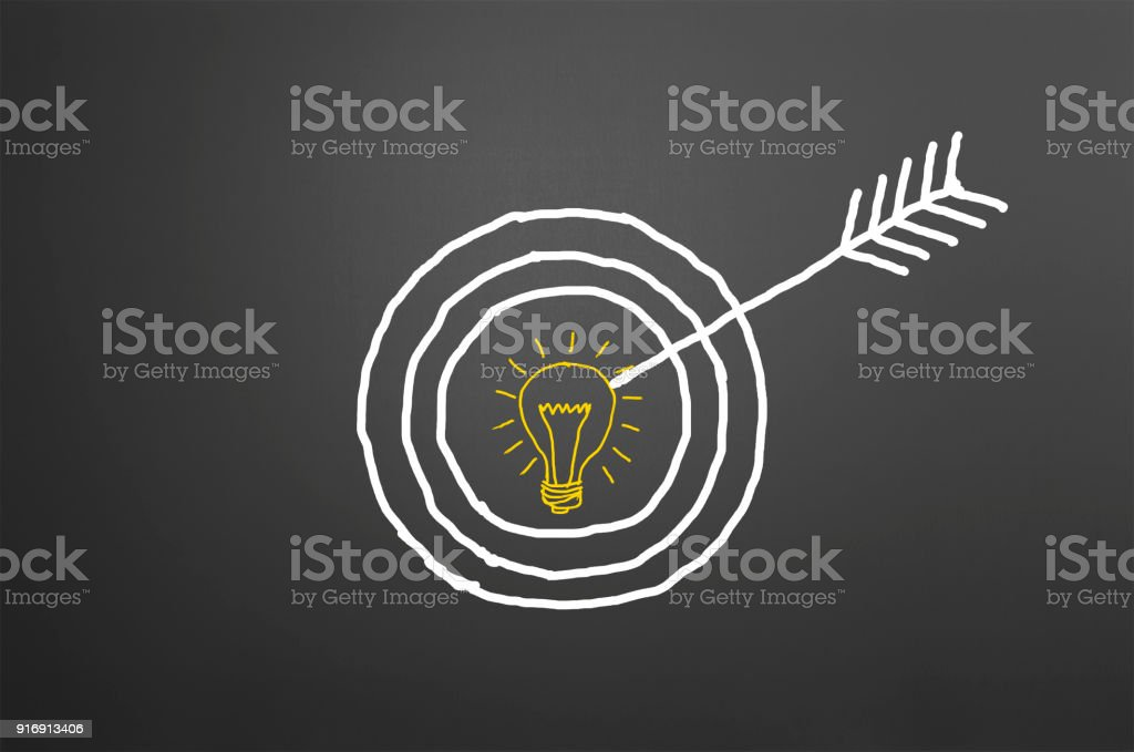 Target Diagram Stock Photo - Download Image Now