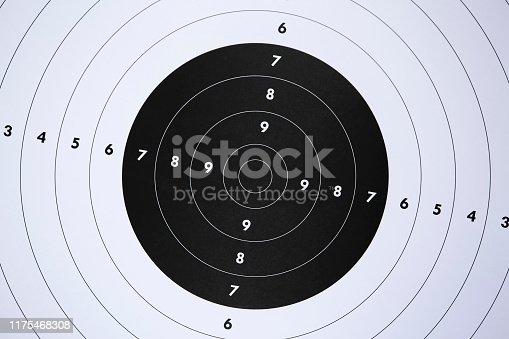 1048647890 istock photo Target for shooting practice 1175468308