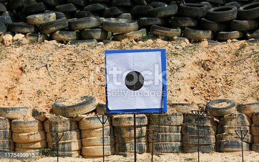 1048647890 istock photo Target for shooting practice 1175499913