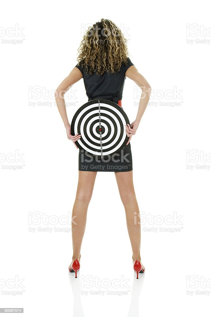 Target for views royalty-free stock photo