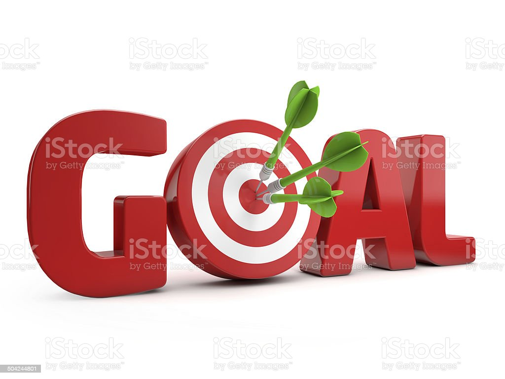 target goal stock photo