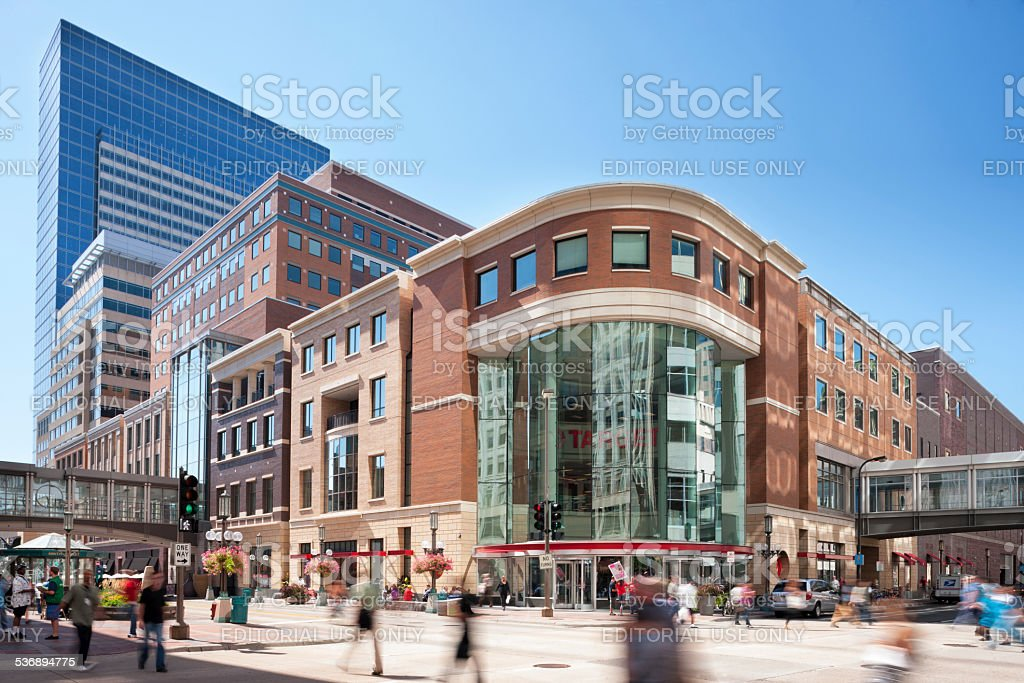Target Headquarters in Minneapolis, Minnesota. stock photo