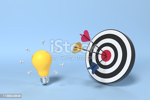840201636 istock photo Target Market and Client 1156640848